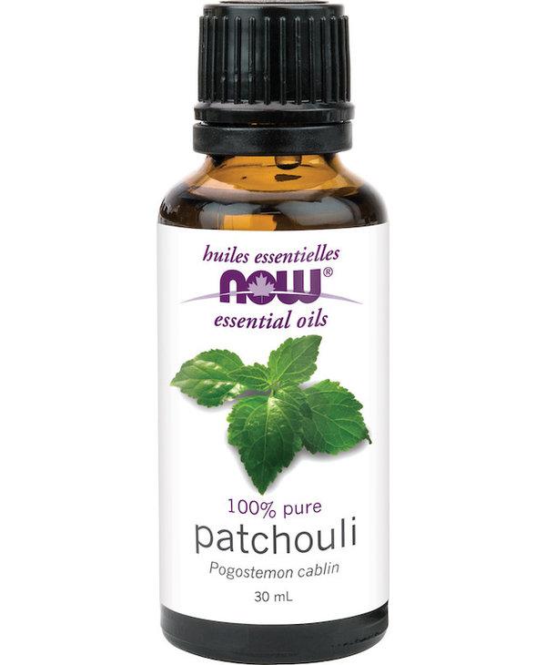 Now - Essential Oil - Patchouli Oil - 30mL