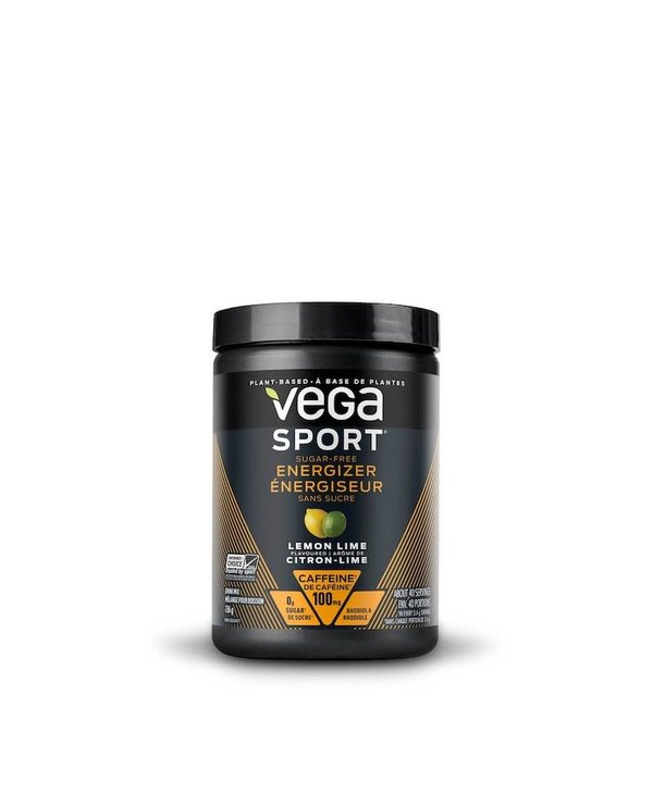 Vega - Vega Sport Sugar Free Energizer - Lemon Lime - 136g
