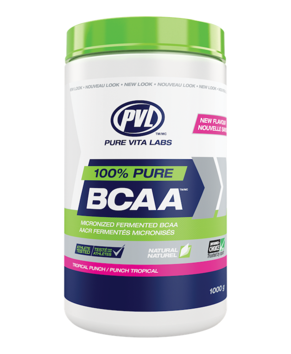 PVL - 100% Pure BCAA - Tropical Punch - 315g