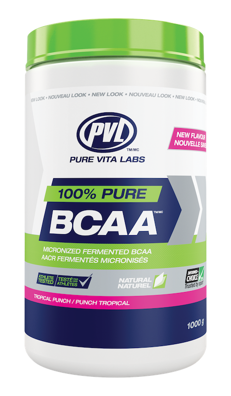 PVL - Pure Vita Labs PVL - 100% Pure BCAA - Tropical Punch - 315g