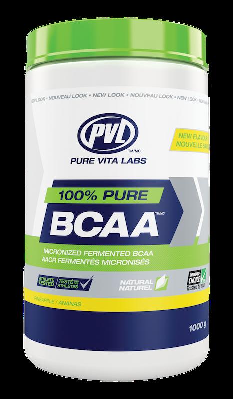 PVL - Pure Vita Labs PVL - 100% Pure BCAA - Pineapple - 315g