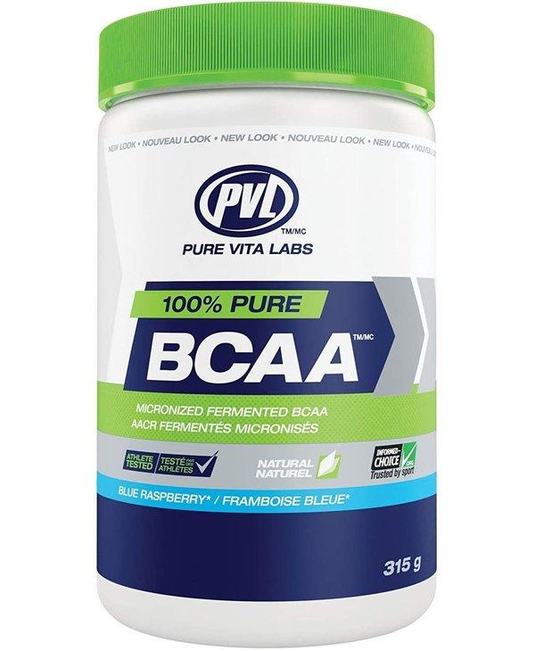 PVL - 100% Pure BCAA - Blue Raspberry - 315g