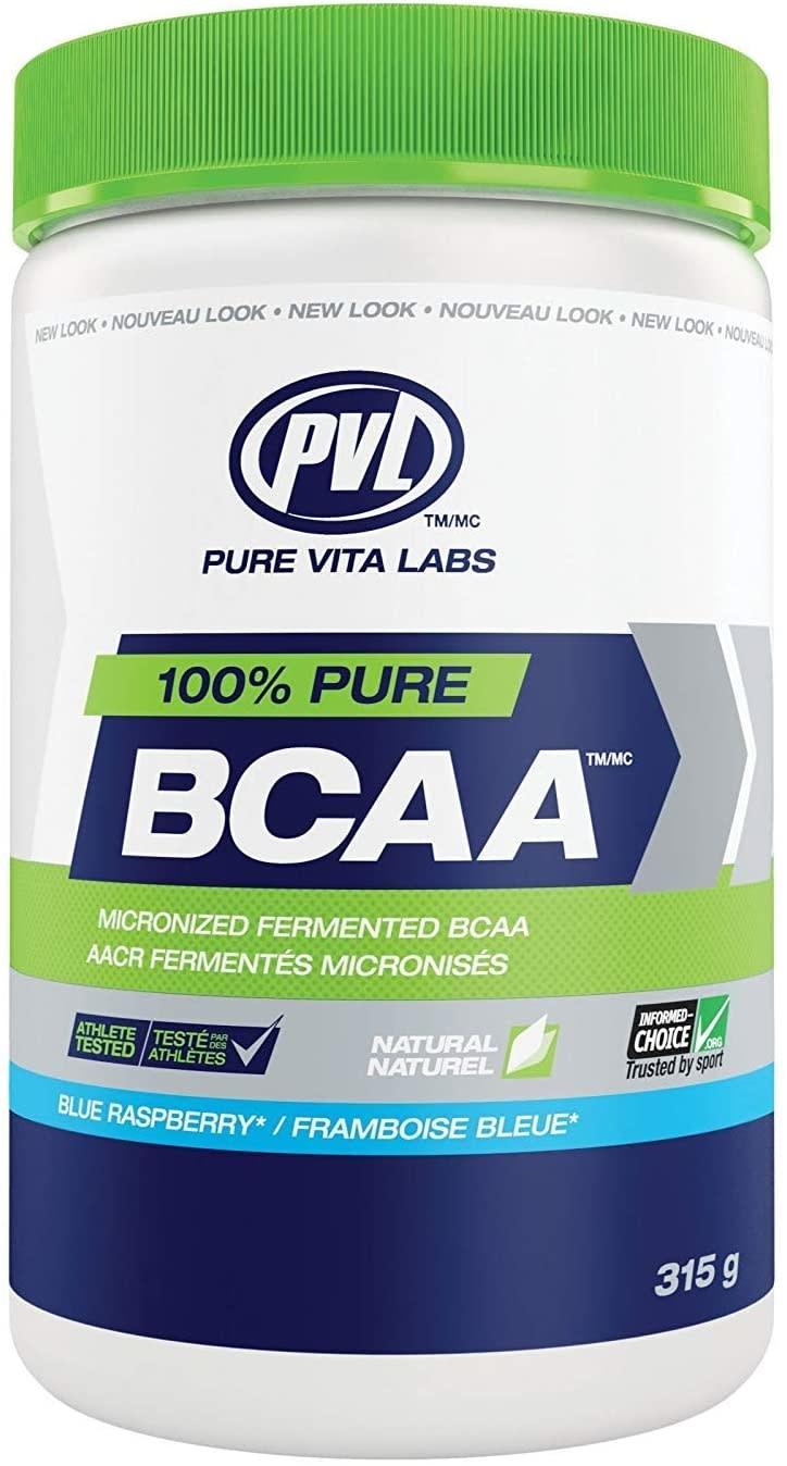 PVL - Pure Vita Labs PVL - 100% Pure BCAA - Blue Raspberry - 315g