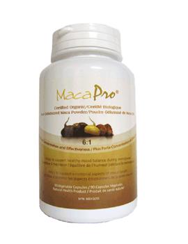 MacaPro MacaPro - 6:1 Gelatinized Maca - Organic - 90 Caps