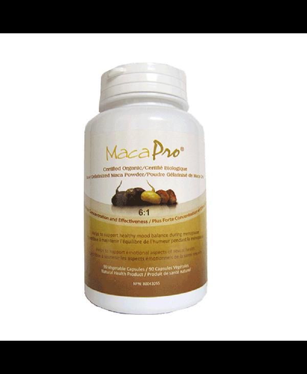 MacaPro - 6:1 Gelatinized Maca - Organic - 90 Caps