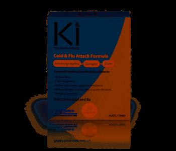 Ki - Cold & Flu Attack Formula - 30 Tablets