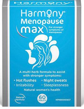 Harmony - Martin & Pleasance Harmony - Menopause Max - 60 Tabs