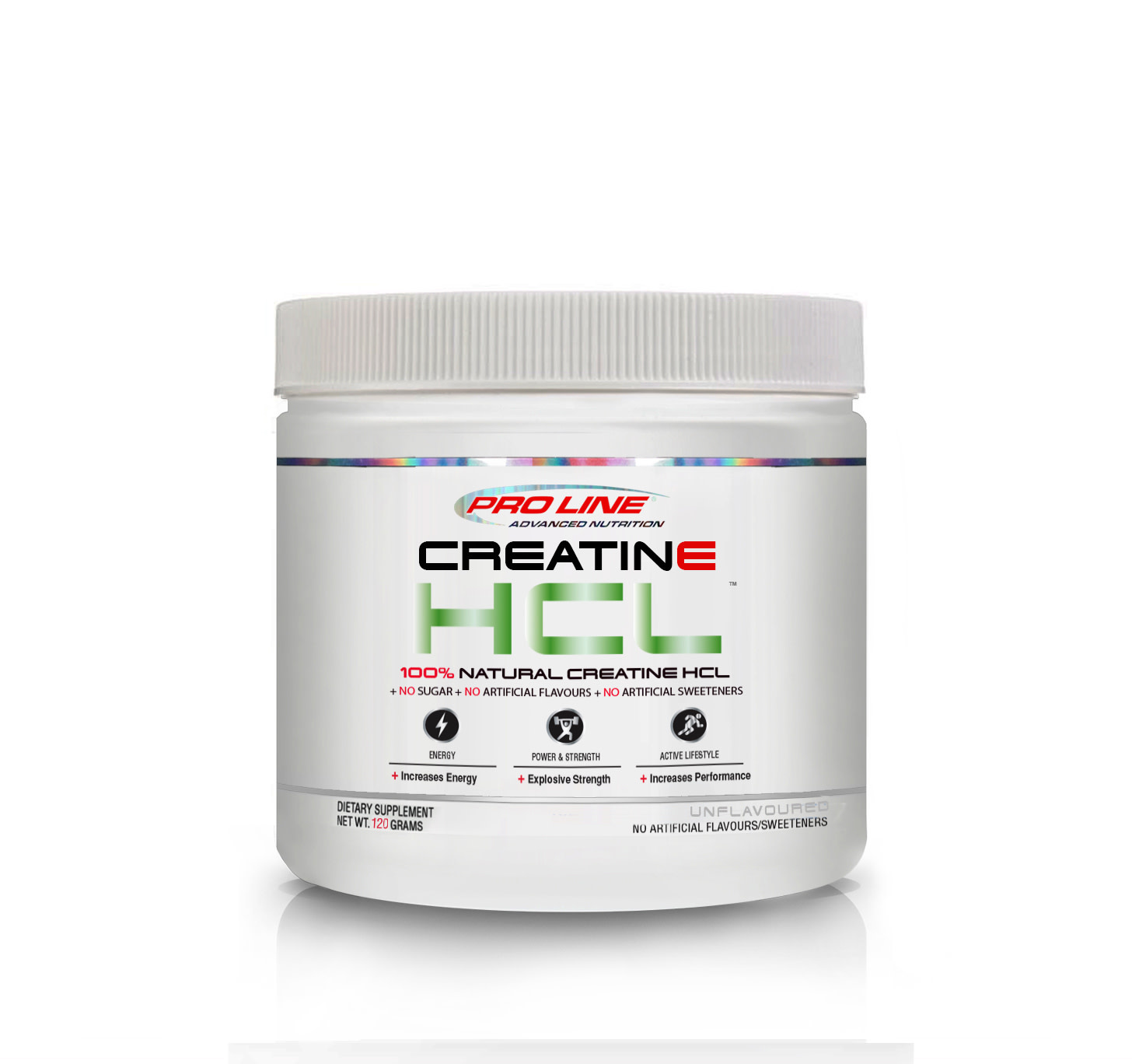 Pro Line - Creatine HCL - Natural Orange Pineapple  - 120g