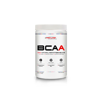 Pro Line - 100% Instantized BCAA - Pharmaceutical Grade Unflavoured - 300g