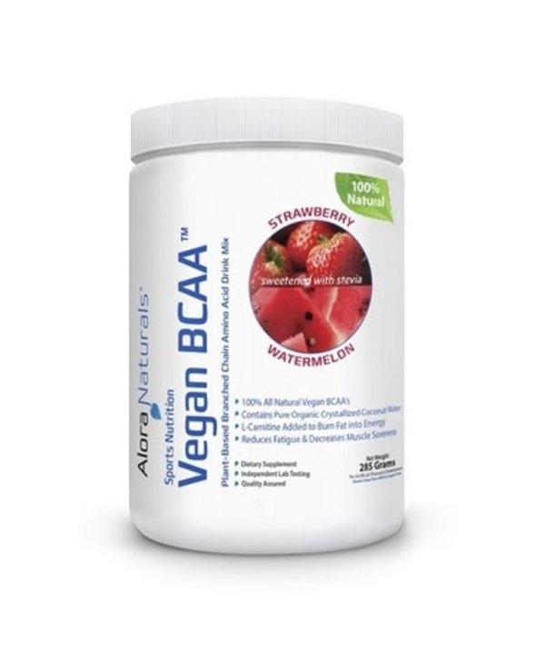 Alora Naturals - Vegan BCAA - Strawberry-Watermelon 30 servings 285 g