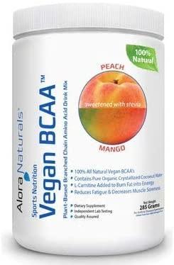 Alora Naturals Alora Naturals - Vegan BCAA - Peach-Mango 30 servings 285 g