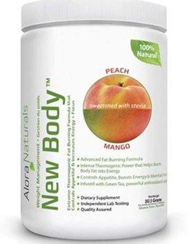 Alora Naturals Alora Naturals - New Body - Peach Mango 350g