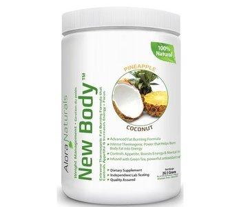Alora Naturals - New Body - Pineapple Coconut 350g