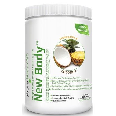 Alora Naturals Alora Naturals - New Body - Pineapple Coconut 350g