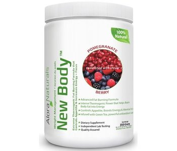 Alora Naturals - New Body - Pomegranate Berry 350g