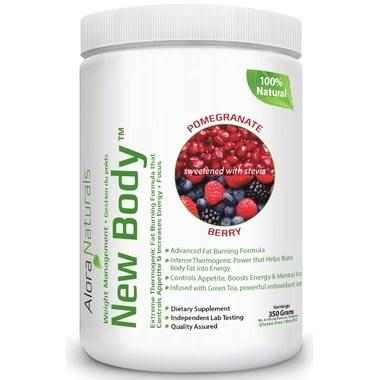 Alora Naturals Alora Naturals - New Body - Pomegranate Berry 350g