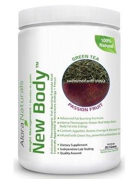 Alora Naturals Alora Naturals - New Body - Grean Tea Passion Fruit 350g