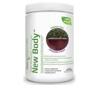 Alora Naturals - New Body - Grean Tea Passion Fruit 350g