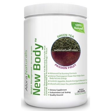 Alora Naturals Alora Naturals - New Body - Grean Tea Passion Fruit 350g