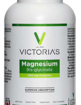 Victoria's Health House Brand Victoria's - Magnesium Bis-glycinate - 260 V-Caps