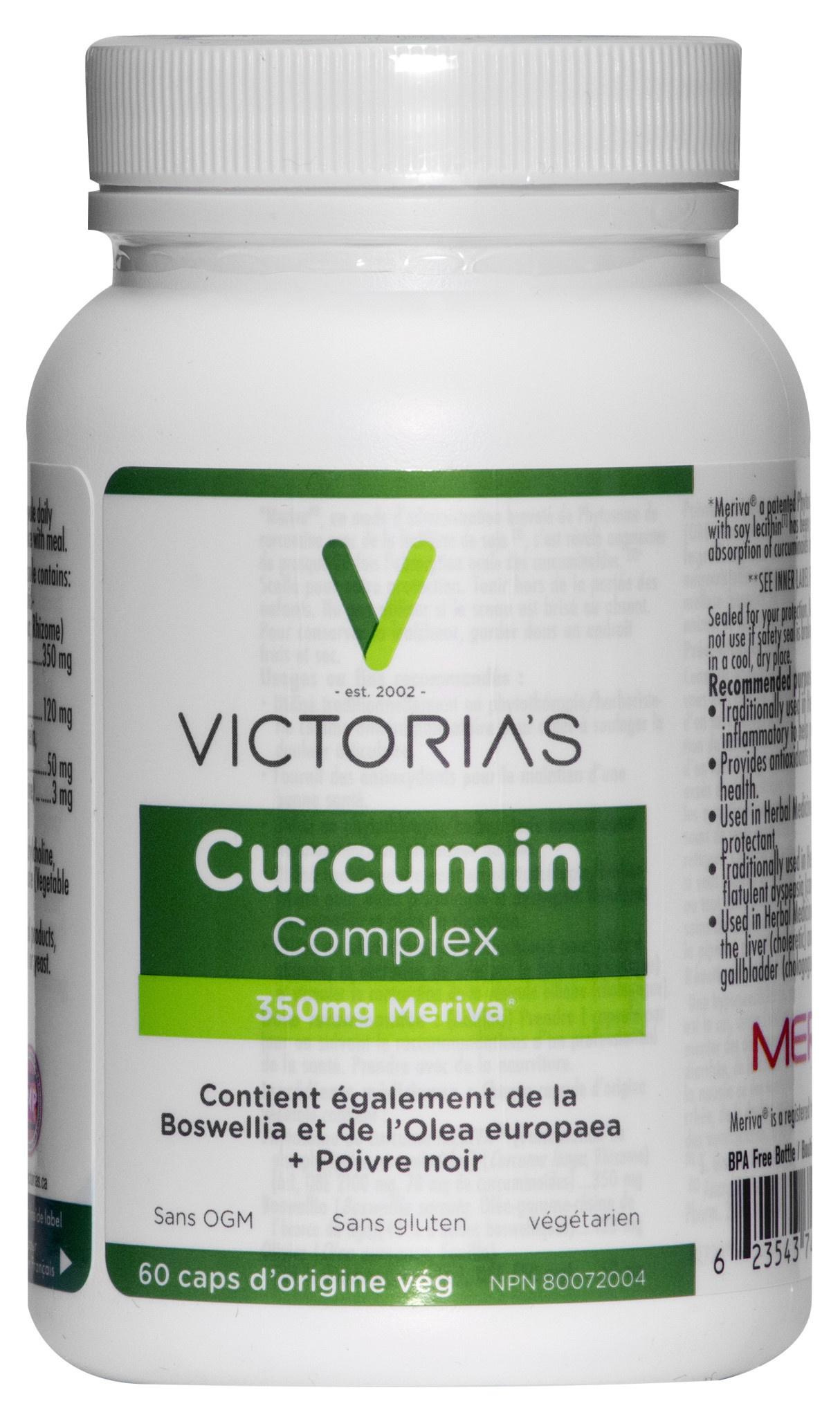 Victoria's Health House Brand Victoria's - Curcumin Complex - 60 V-Caps