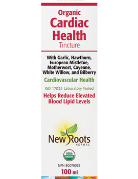 New Roots New Roots - Organic Cardiac Health Tincture - 100ml