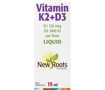 New Roots - Vitamin K2 + D3 - 15ml