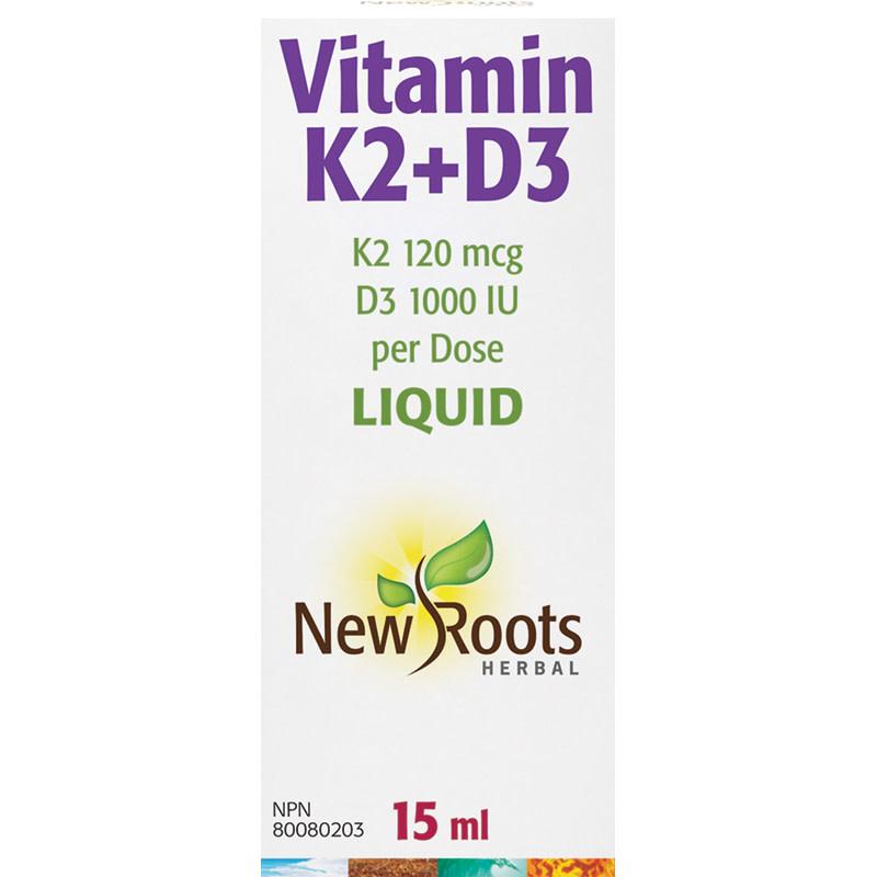 New Roots New Roots - Vitamin K2 + D3 - 15ml