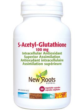 New Roots New Roots - S-Acetyl-Glutathione 100mg - 60 Vegi Caps