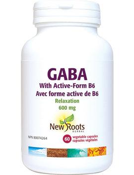 New Roots New Roots - Gaba W/ Active-Form B6 - 60 Vegi Caps