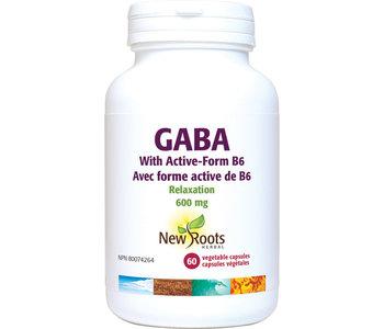 New Roots - Gaba W/ Active-Form B6 - 60 Vegi Caps