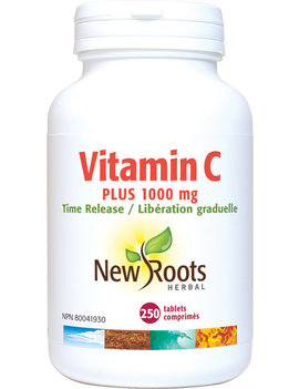 New Roots New Roots - Vitamin C Plus 1000mg Time Release - 250 Tablets