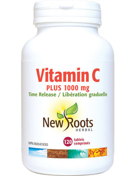 New Roots New Roots - Vitamin C Plus 1000mg Time Release - 120 Tablets