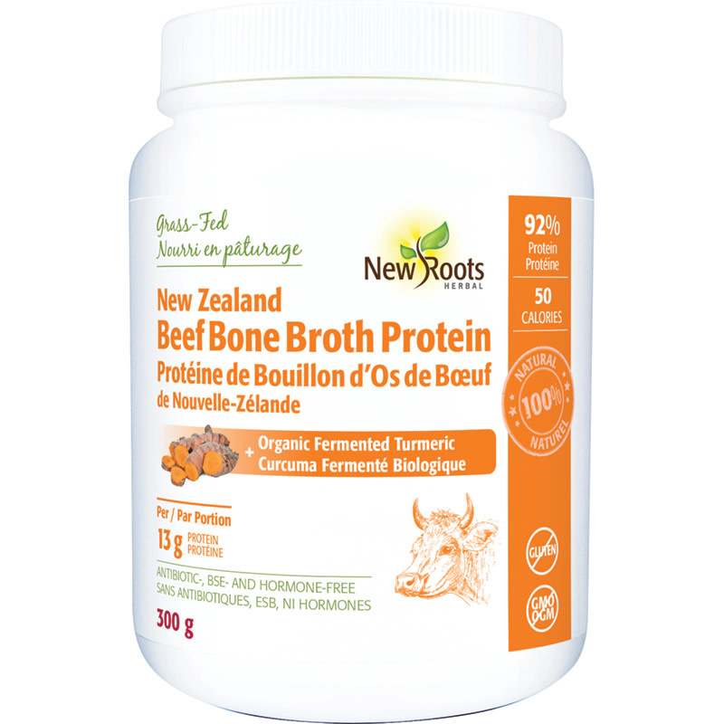 New Roots New Roots - Beef Bone Broth Protein - 300g