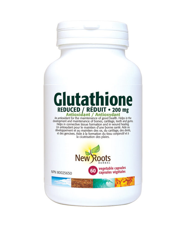 New Roots - Glutathione Reduced 200mg - 60 Vegi Caps