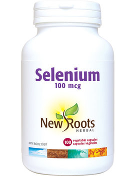 New Roots New Roots - Selenium 100mcg - 100 Vegi Caps