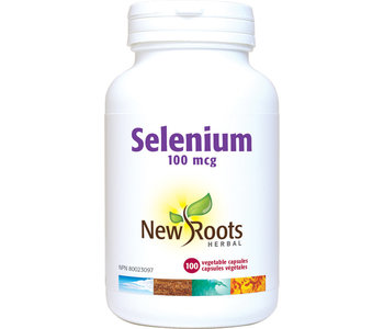 New Roots - Selenium 100mcg - 100 Vegi Caps