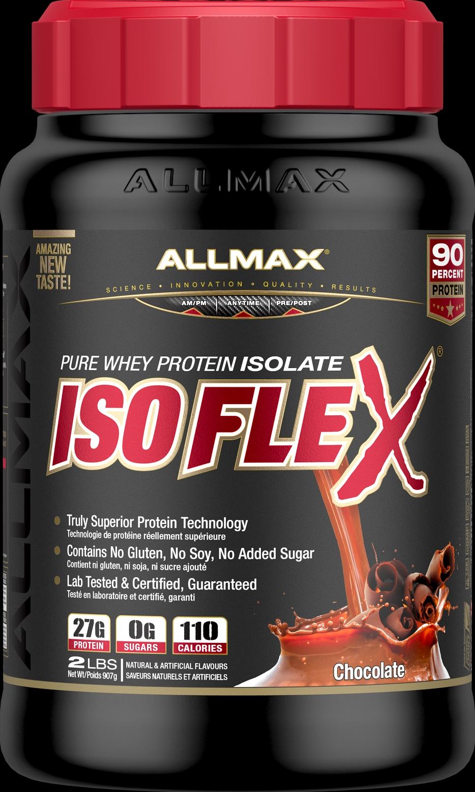 Allmax Nutrition Allmax - Isoflex - Whey Protein Isolate - Chocolate - 2lbs