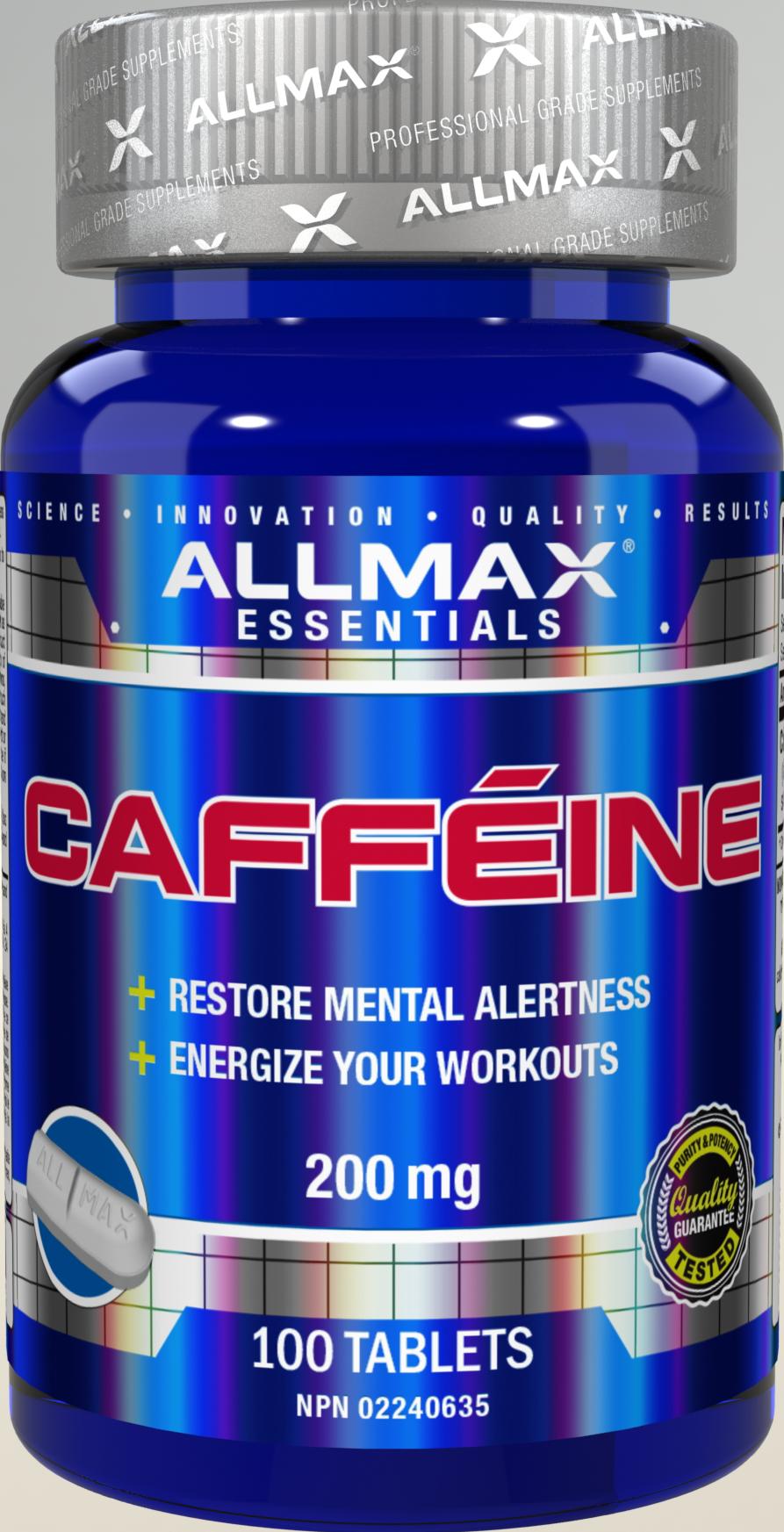 Allmax Nutrition Allmax - Caffeine 200mg - 100 Tabs