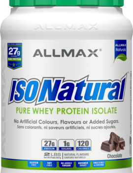 Allmax Nutrition Allmax - IsoNatural - Whey Protein Isolate - Chocolate Peanut Butter - 2lbs