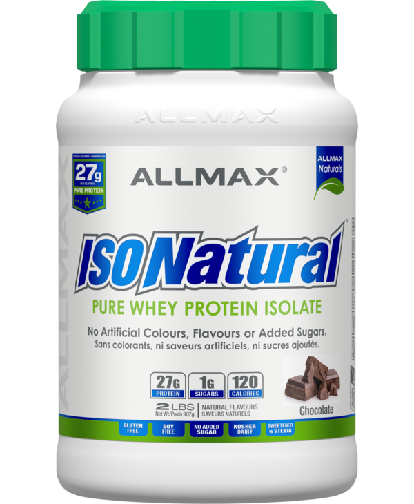 Allmax - IsoNatural - Whey Protein Isolate - Chocolate Peanut Butter - 2lbs