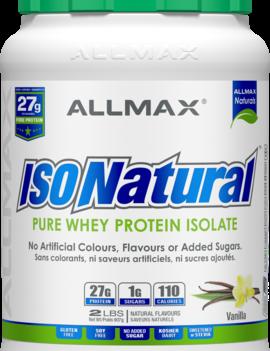 Allmax Nutrition Allmax - IsoNatural - Whey Protein Isolate - Vanilla - 2lbs