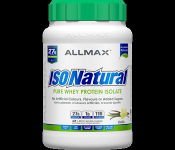 Allmax - IsoNatural - Whey Protein Isolate - Vanilla - 2lbs