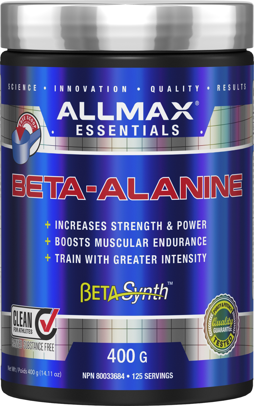Allmax Nutrition Allmax - Beta Alanine - 400g Powder
