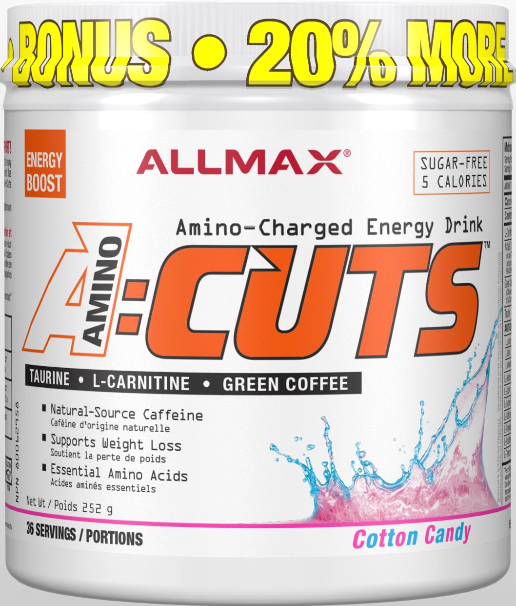Allmax Nutrition Allmax - A:CUTS - Cotton Candy - 252g