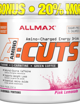 Allmax Nutrition Allmax - A:CUTS - Pink Lemonade - 252g