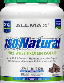 Allmax Nutrition Allmax - IsoNatural - Whey Protein Isolate - Chocolate - 2lbs