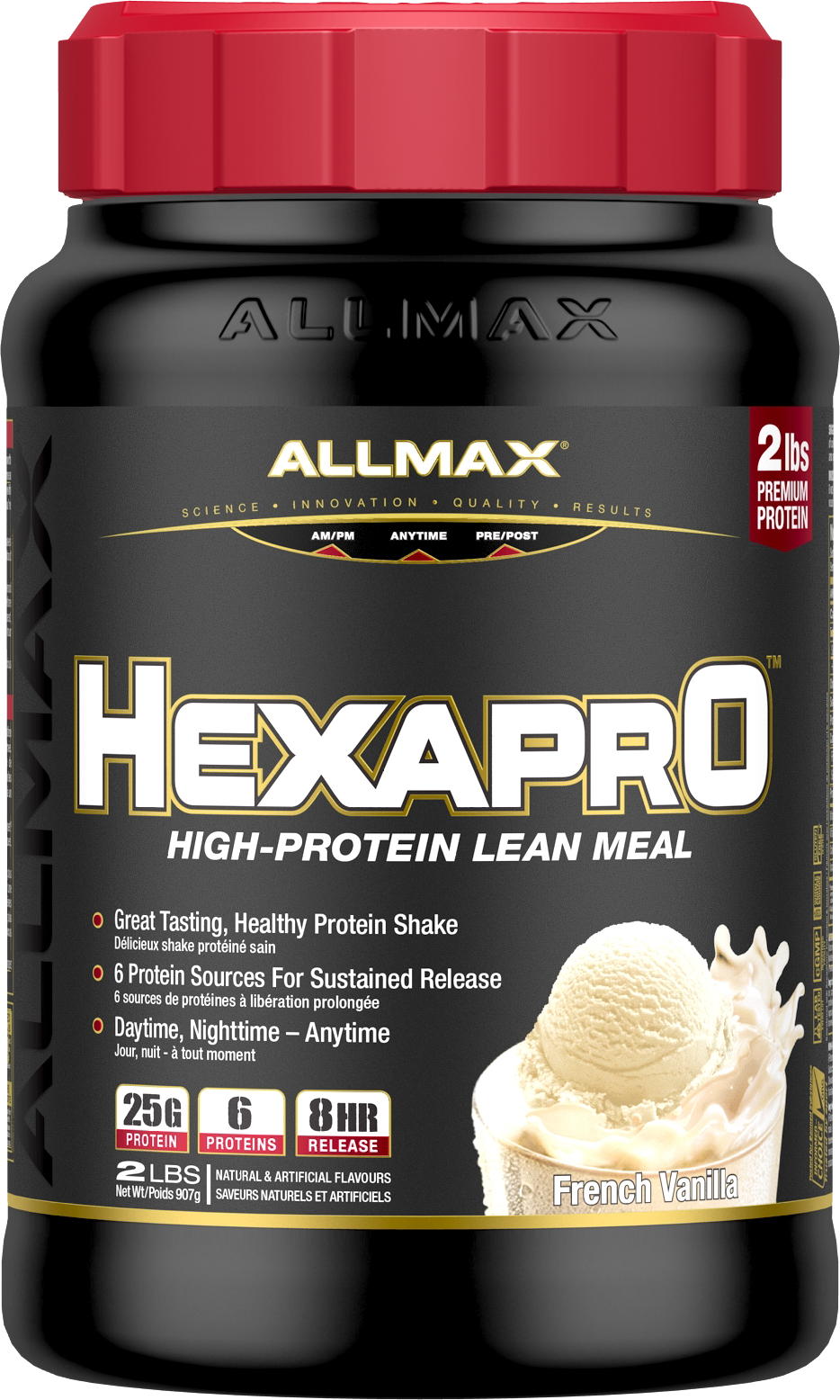 Allmax Nutrition Allmax - Hexapro - French Vanilla - 3lbs