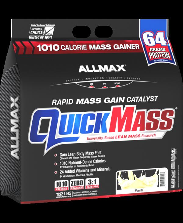 Allmax - Quickmass - Vanilla - 12lbs