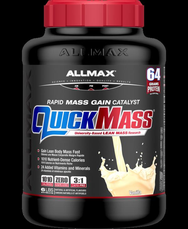 Allmax - Quickmass - Vanilla - 6lbs